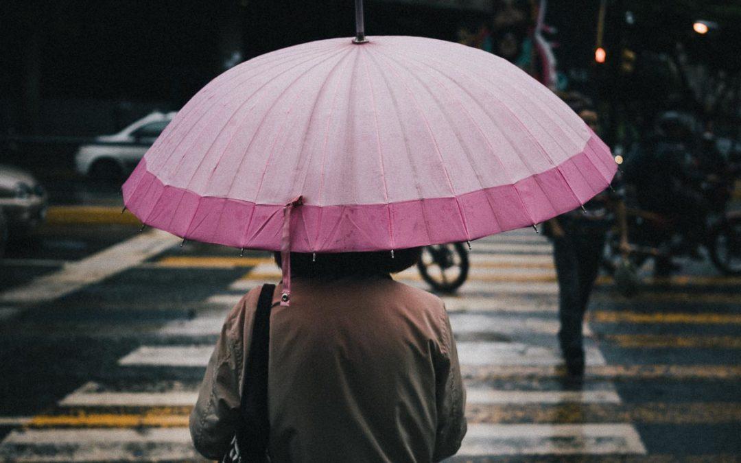 Una parda tarde lluviosa