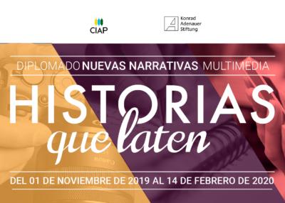 Diplomado Nuevas Narrativas Multimedia. Edición presencial.