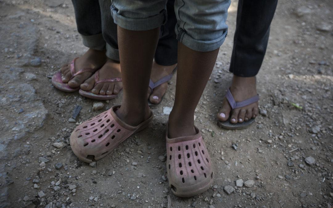 Las niñas mendigo