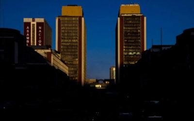 Caracas a más de dos metros