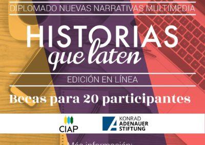 Diplomado Nuevas Narrativas Multimedia. Edición en línea