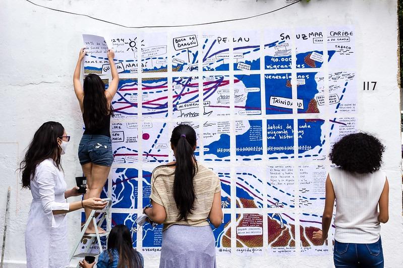 #GüiriaDuele: arte en memoria de las víctimas