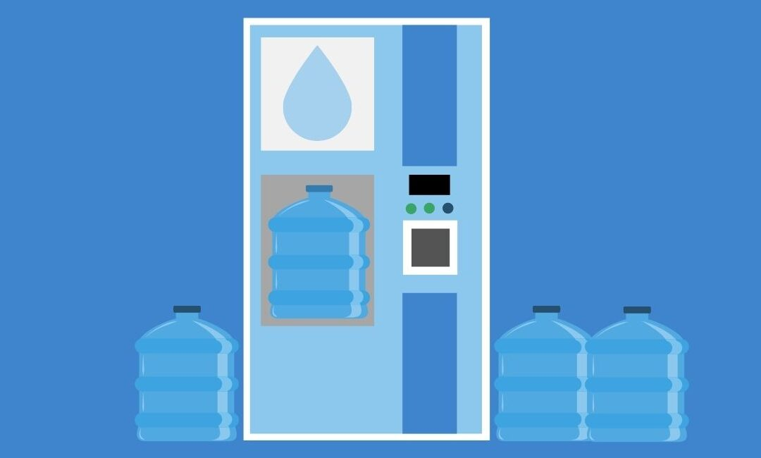 Agua pura para recargar – La verde historia